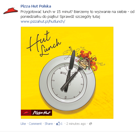 Pizza Hut Reklama